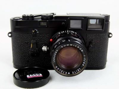 徕卡Leica M3带M50/2 黑漆版