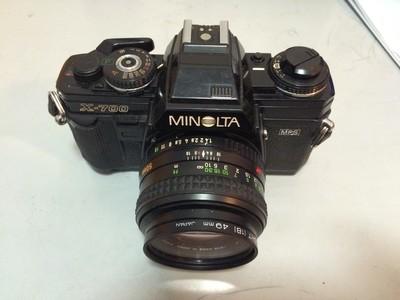 Minolta X-700+50/1.4