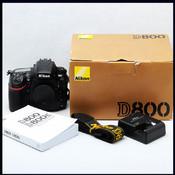 Nikon 尼康 D800 全副 单反 机身 带包装好成色 (支持置换 收购)