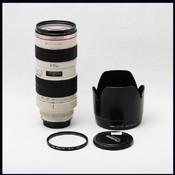 佳能 canon EF 70-200 2.8L USM 小白 带遮光罩 UV镜