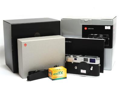 徕卡/Leica M-A (Typ 127) 胶片旁轴相机 银色 *如新连盒*