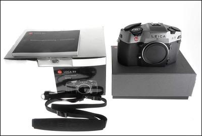 徕卡 Leica R9 Anthracite 炭灰色 135旗舰 机身 带包装