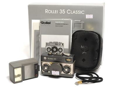 禄来/Rolleiflex 35 Classic 钛版相机 带Sonnar 40mm HFT镜头