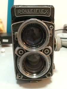 禄来 rolleiflex 2.8 德产双反相机 120胶片
