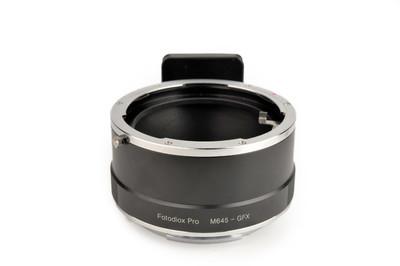 FOTODIOX PRO 玛米亚645镜头转富士GFX接环#33157