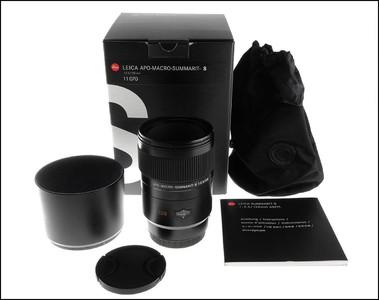 徕卡 Leica S 120/2.5 APO Macro 微距镜头 带包装