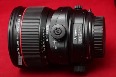 佳能 TS-E 24/3.5 24/3.5L II 二代 移轴 实物拍摄 难得新品