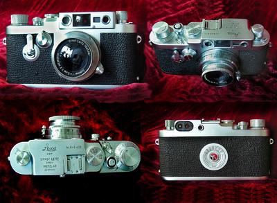 Leica IIIg 出收藏级99新 徕卡+50/1.2+福仑达35/2.5镜头
