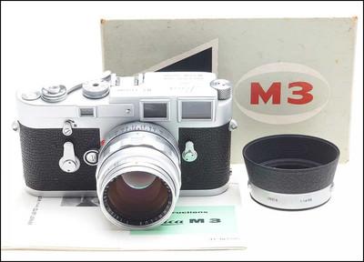 徕卡 Leica M3 + 50/1.4 经典套机 机身带包装