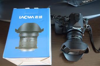 (近全新)老蛙 LW-FX 15mmF4.0 镜头