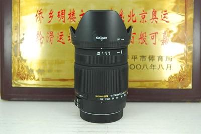 99新 佳能口 适马 18-250 F3.5-6.3 OS HSM 单反镜头 防抖挂机
