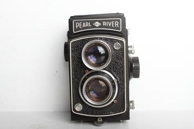93新二手珠江Pearl River双反胶片相机 (B6768)【京】