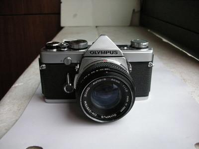 很新奥林巴斯 OM-1金属制造单反相机带50mmf1.8镜头