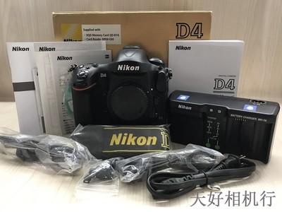 《天津天好》相机行 99新 带包装 尼康D4 XQD版 机身