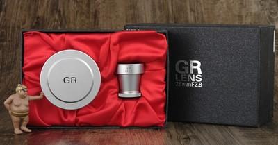 理光 28mm 2.8 GR L39螺口 限量版 箱说全 美品