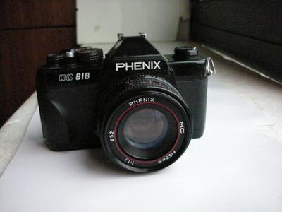 很新凤凰818单反相机带50mmf1.7MC多层镀膜镜头,收藏使用