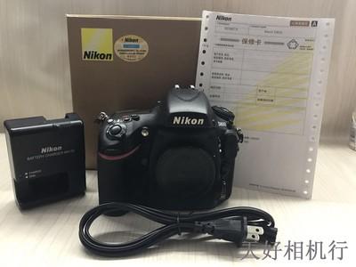 《天津天好》相机行 98新 行货带包装 尼康D800 机身