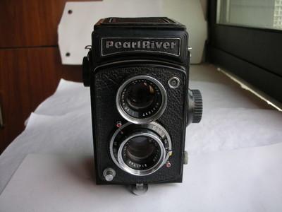 很新珠江120双反相机,收藏使用,送皮套