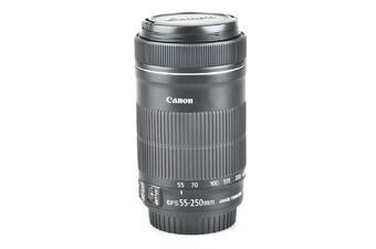 95新 佳能 EF-S 55-250mm f/4-
