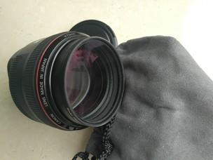 出售98新佳能 EF 85mm f/1.2 L I