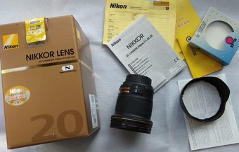 99新 尼康 AF-S 尼克尔 20mm f/1.