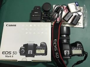 佳能 5D Mark II(含全新原装手柄)+50