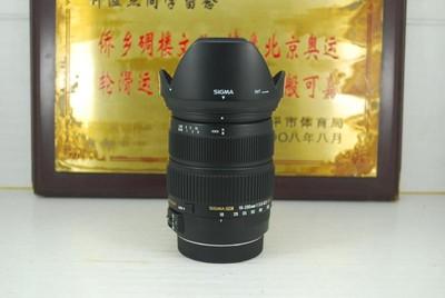 99新 佳能口 适马 18-200 F3.5-6.3 OS HSM 单反镜头 防抖 可置换