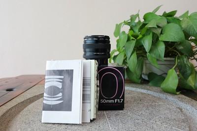 95新二手Contax康泰时 50/1.7 C/Y口 带UV(W11334)【武】寄售
