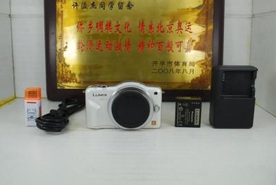 松下 GF3 微单 单电数码相机 千万像素 触摸屏 可置换