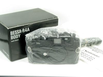 福伦达 Bessa R4A 旁轴 超级取景器 黑色 全新样品带包装