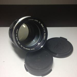 佳能FL58 1.2 大光圈手动镜头