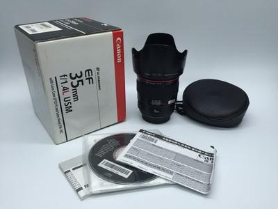 95新带包装佳能 EF 35mm f/1.4L USM 35/1.4