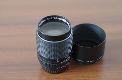 宾得 K135/2.5mm