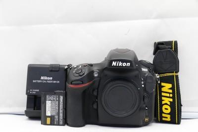 95新二手Nikon尼康 D800 单机 快门13600次(1653)【亚】