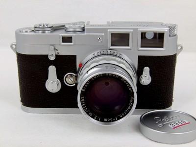 带包装盒的徕卡Leica M3加M50/2套机