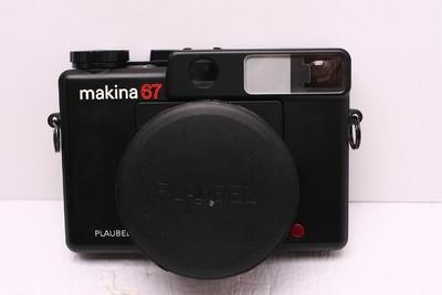 makina67 玛琦娜 PLAUBEL MAKINA 67 好成色 中画幅相机 带光罩