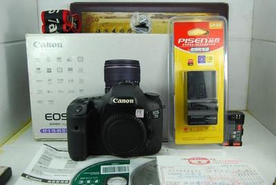 95新 佳能 7D 数码单反相机 非全画幅专业机型 可置换
