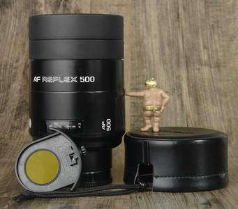 美能达 AF 500mm f:8 RF 自动对焦 折返