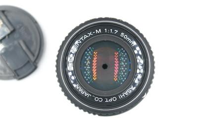 宾得 SMC PENTAX-M 50mm f1.7 镜片三无微尘