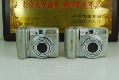 佳能 A580 卡片机 便携数码相机 可摄像 可置换