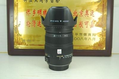 95新 佳能口 适马 18-200 F3.5-6.3 OS HSM 单反镜头 防抖 可置换