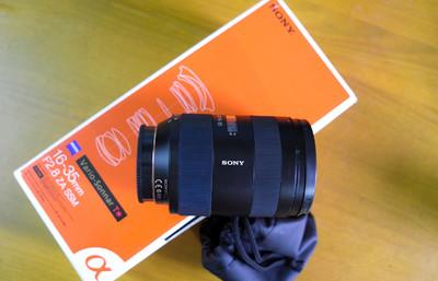 索尼 Vario-Sonnar T* 16-35mm f/2.8 ZA SSM(SAL1635Z)