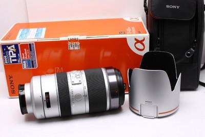 索尼70-400mm4-5.6 G SSM 索尼70-400/4-5.6 索尼70-400 带包装