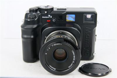 Mamiya玛米亚 7II+80/4L 标准套机 中画幅旁轴胶片相机 黄斑对焦