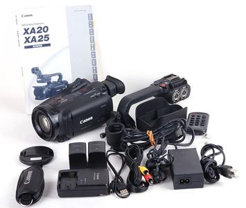 佳能 XA20 HD摄像机 附件齐全 日本本土版本 #jp18181