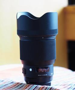 出售适马85mm f/1.4 DG HSM | Art