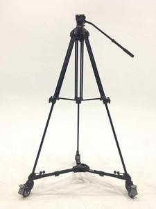 99新 伟峰WF717  1.8米摄像架+云腾901三脚架滑轮底座