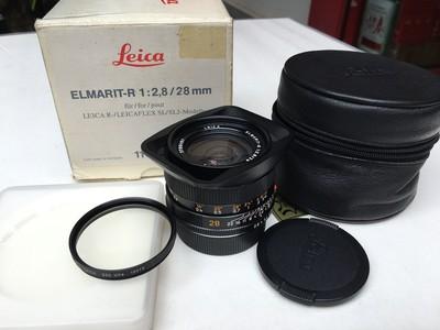 Leica Elmarit-R 28 mm f/ 2.8  E55 后期  37***编号   已出