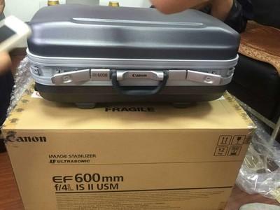 转让佳能 EF 600mm f/4L IS II USM