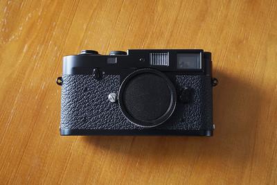 Leica M2 黑漆后涂